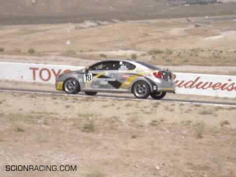Dan Gardner & Scion Racing Take NASA PTC Victory at Willow Springs Raceway