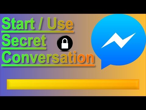How To Open And Use Secret Conversation On Messenger