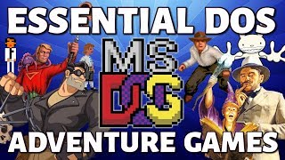 20 Essential DOS Adventure Games (ft. The Game Show)