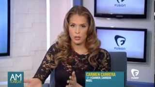 Carmen Carrera on the Alicia Menendez Tonight  Show on Fusion TV
