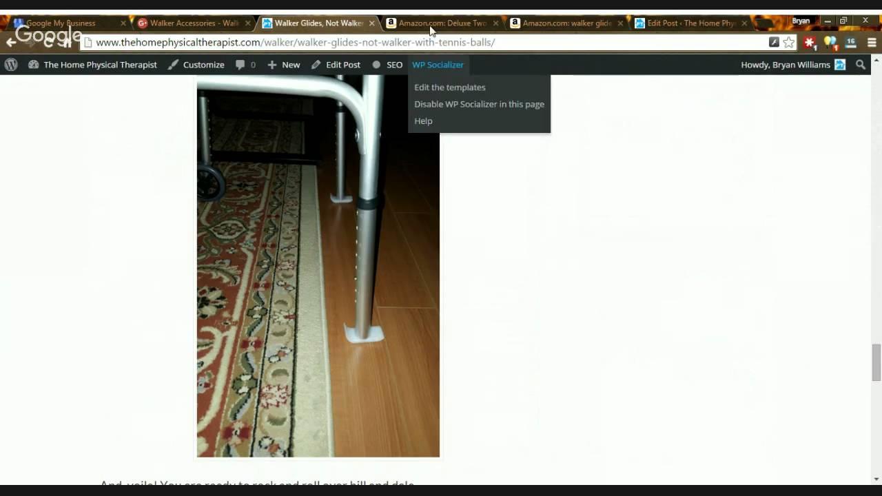 walker accessories walker glides youtube