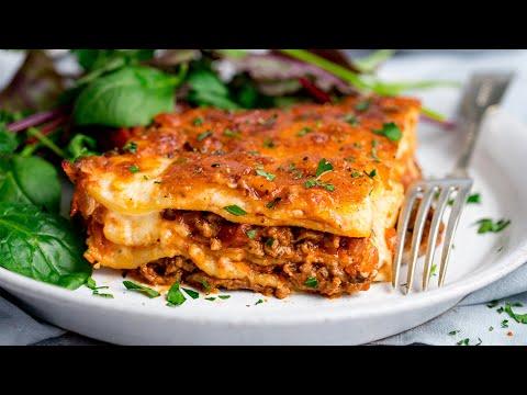 Easy Homemade Lasagne Recipe = Perfect Family Comfort Food