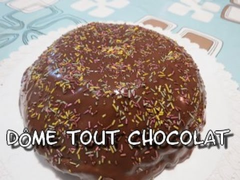 recette-de-gâteau-facile-:-le-dôme-chocolat
