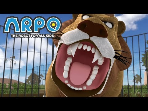 ARPO The Robot For All Kids - At The Zoo | Full Episode | Cartoon for Kids