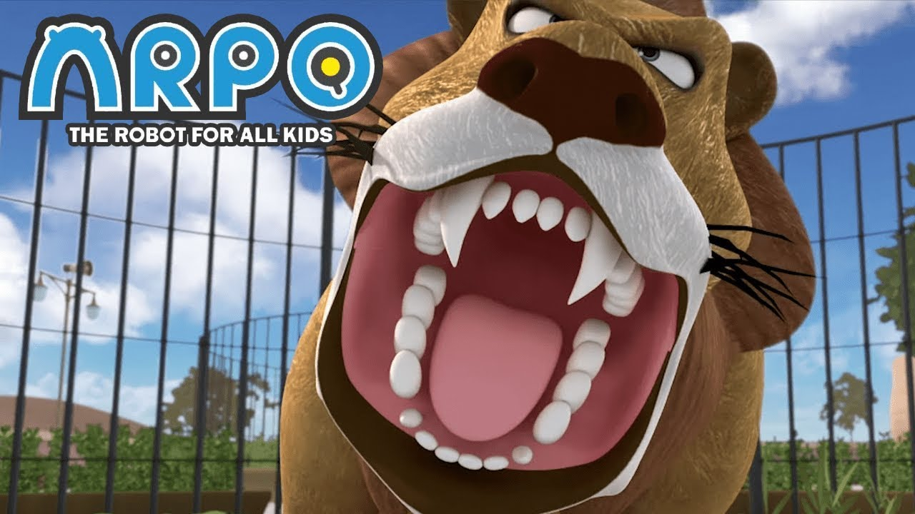 ARPO The Robot For All Kids - At The Zoo | Full Episode | Videos For Kids Videos For Kids