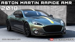 2018 Aston Martin Rapide AMR Review Rendered Price Specs Release Date