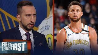 The NBA missed Steph Curry. We've never had a guy like him — Nick Wright | NBA | FIRST THINGS FIRST
