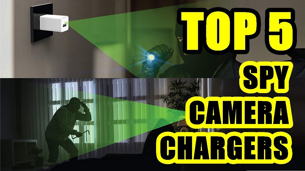 TOP 5: Best Spy Hidden Camera USB Charger with Motion Detection 2021 | Easy to Install