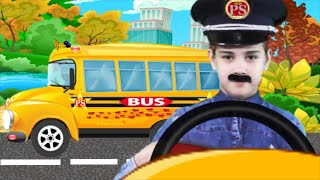 Wheels on the Bus kids song | Nursery Rhymes Kids Songs for Children, Babies and Toddlers