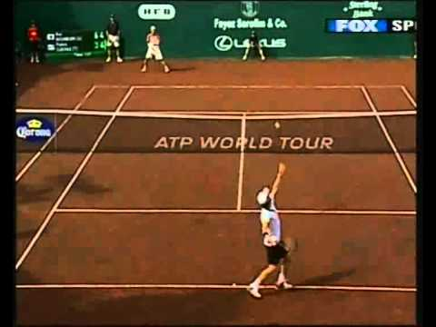 Pablo Cuevas, incredible volley!!!