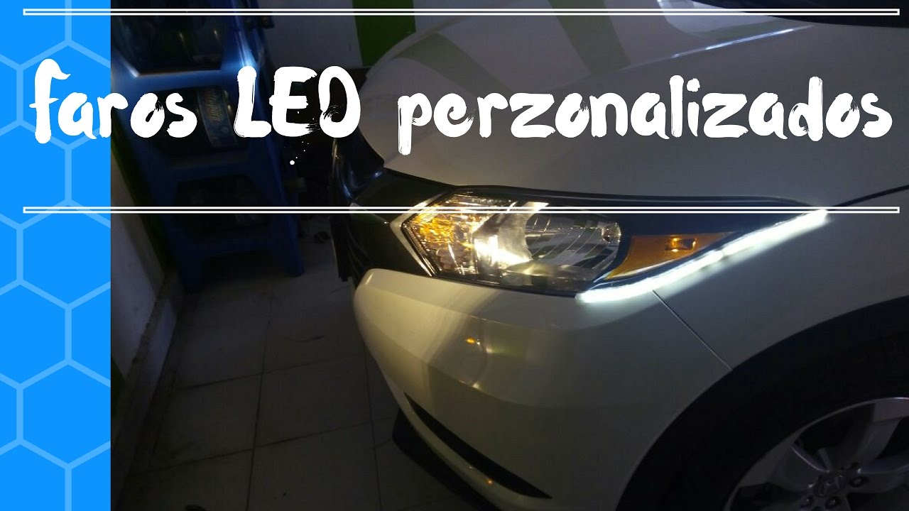 Hr headligths LED perzonalizados Faros 2016 LED 2016 Honda Hr v v Custom NOv80wymn