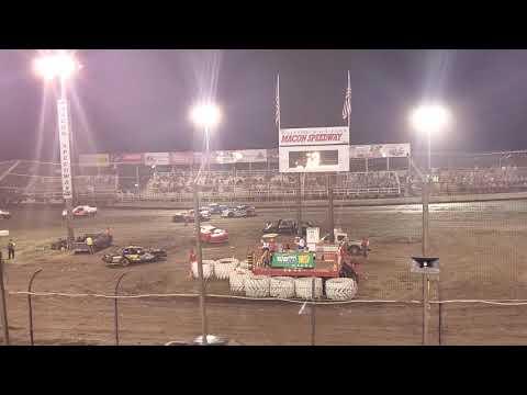 Macon Speedway Street Stock Racing Feature 7-6-19