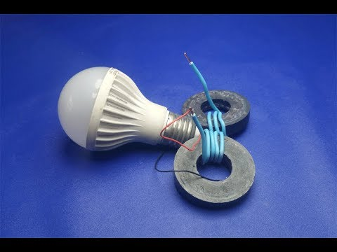wow-free-energy-electricity-light-bulbs-generator---diy-projects-2018