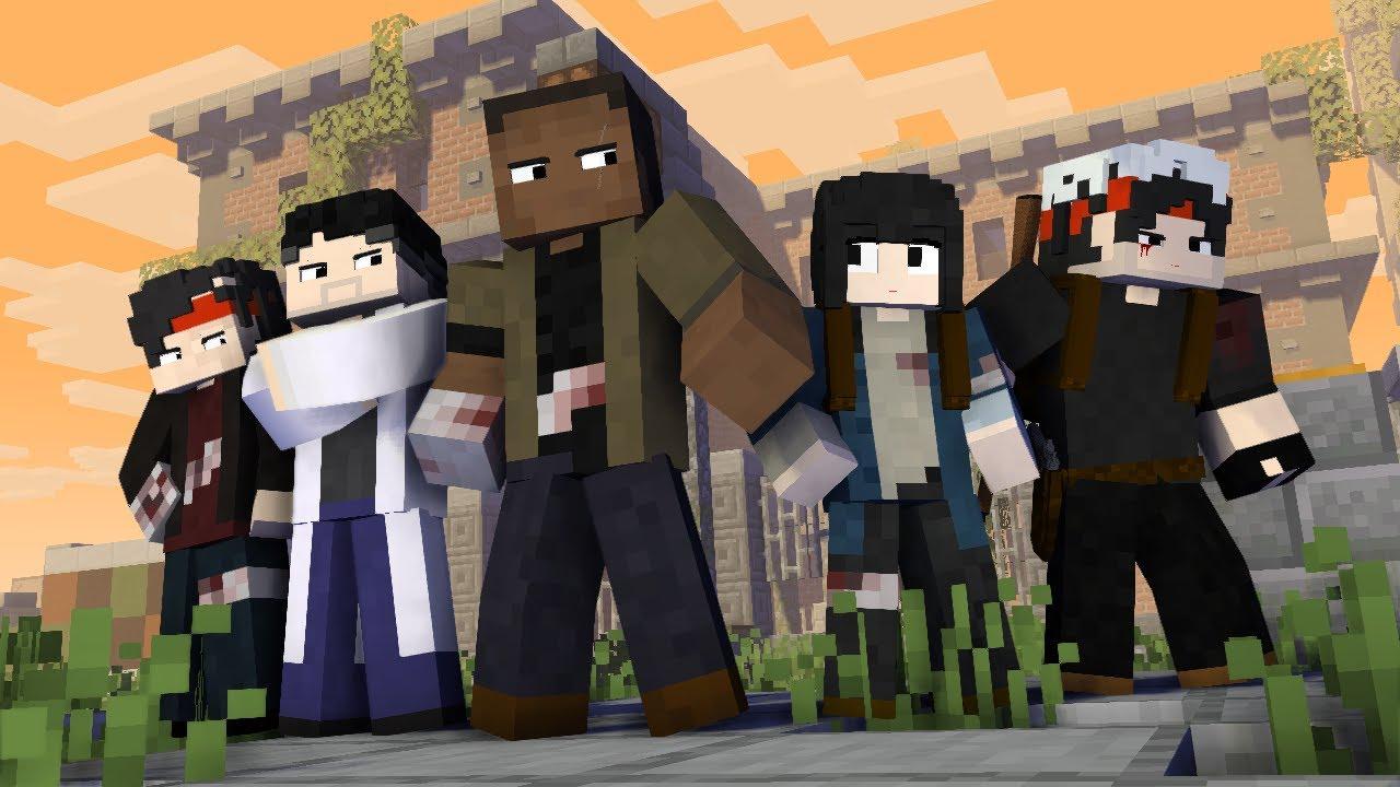 ZOMBIE APOCALYPCE Ep.4 - Minecraft Animation
