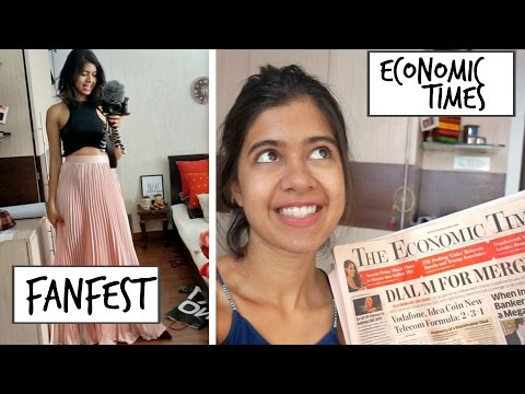 #SejalVlogs: I'm going to be in The Economic Times + Preparing for YouTube FanFest!