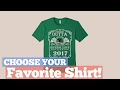 Top 12 Tees By Class Of 2017 Shirt // Graphic T-Shirts Best Sellers