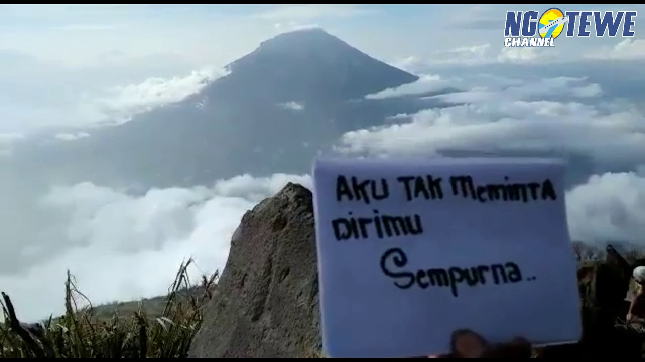 Gambar Kata Kata Pendaki Gunung Romantis