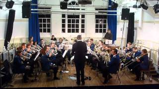 "Fulham Brass Band play ""The Incredibles"" at St. James"