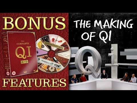 BEHIND-THE-SCENES DOCUMENTARY | QI DVD Bonus Features