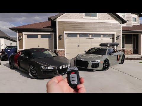 Swapping out the Lambo for an Audi R8 V10 Plus