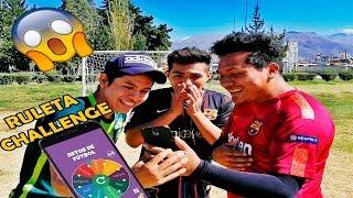 EPIC RETOS DE FUTBOL!!! RULETA CHALLENGE *Final Chistoso*