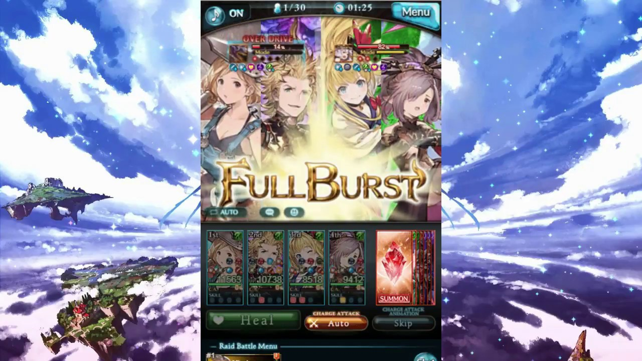 GBF] Mechanic, Strike Time, Siete and Kirin by Miza