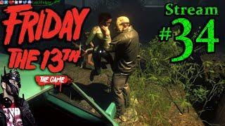 Friday The 13th 🌳Join Me☠️Jason👹🔪 All DLC💸PC💻Max✨#34th Stream🎋