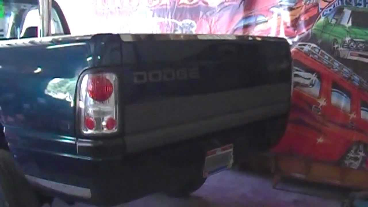 Roll Pan Install 95 Dodge Ram Youtube