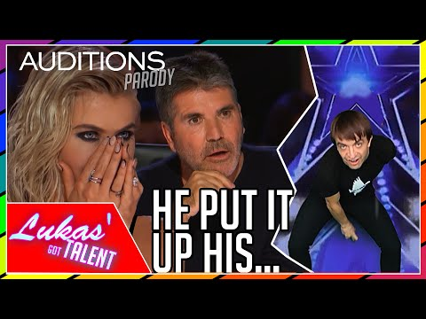 Never Seen Before: IMPOSSIBLE Magic Tricks on America's Got Talent (Britain's Got Talent parody)
