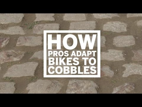 How pros adapt their bikes for cobbles   Cycling Weekly