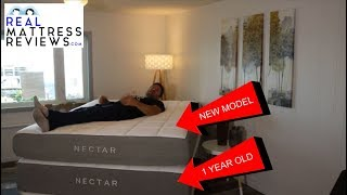 Nectar Mattress Review - (1 Year Later) - Older Model Vs New Model Reviews