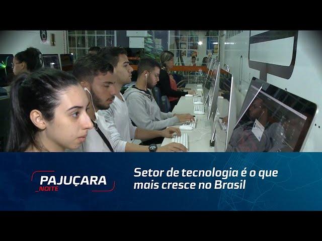 Setor de tecnologia é o que mais cresce no Brasil   JPN   02082019