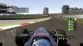 F1 2011 Gameplay Red Bull Race