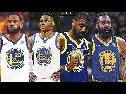 LeBron, Curry, Durant, Kyrie, Westbrook, Harden & Best NBA Players on the Same Team (Warriors)