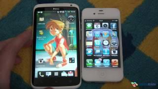 HTC One X против Apple iPhone 4S. Видеосравнение (3)