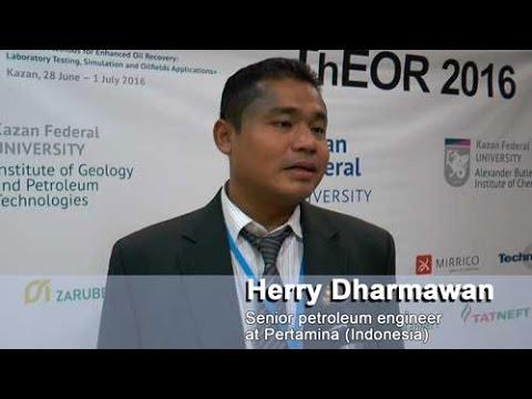 Herry Dharmawan - Senior petroleum engineer at Pertamina (Indonesia)