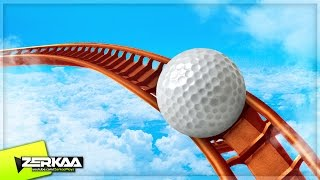 GOLF COASTER IN THE SKY! (Golf It)