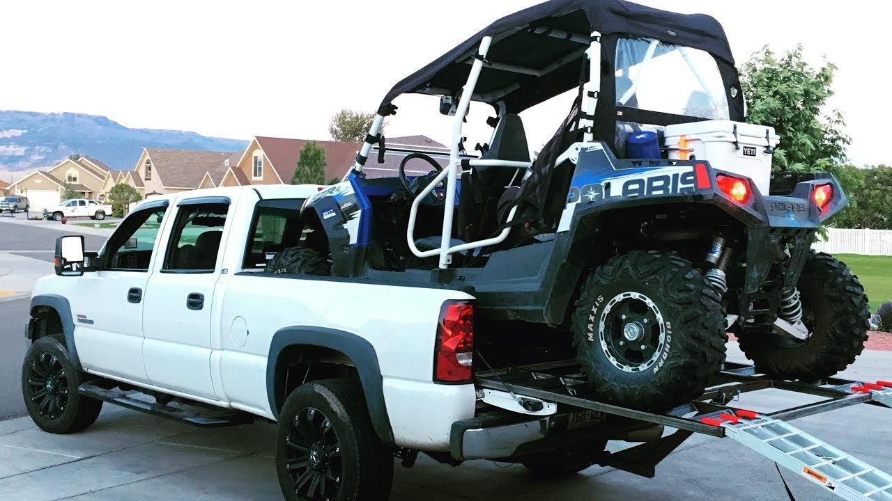 Can A Rzr Fit In A Truck Bed