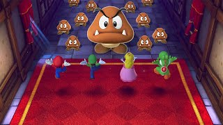 Mario Party 10 MiniGames - Mario Vs Luigi Vs Peach Vs Donkey Kong (Master Cpu)