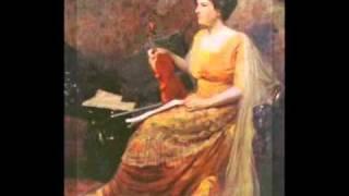 Maud Powell - Mignon:  Gavotte (par Sarasate)