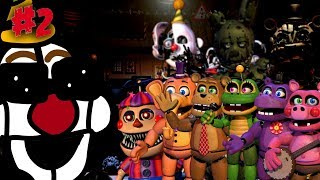 FnaF6  Ultimate Custom Night Roster #2 | (Next 9 Characters)