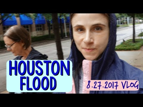Vlog: Houston Harvey Flood, Vegan Cheeze Crackers,  SKIN CARE 🌧