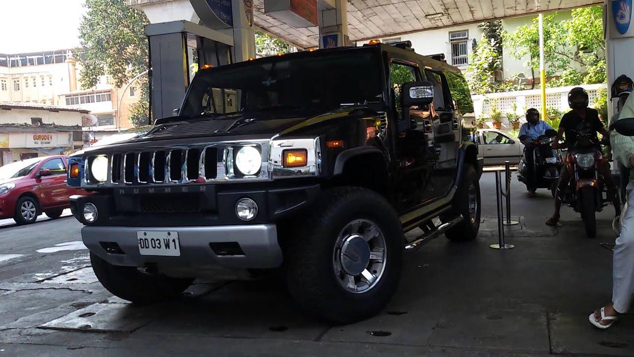 Hummer h2 spot in mumbai
