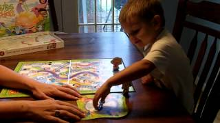 Playing Chutes and Ladders Thumbnail