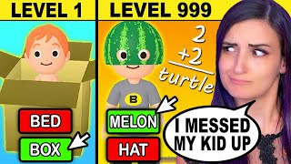 I Tried Parenting App Games ...but I RUINED My Kid's Life