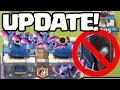 UPDATE! NEW Game Modes! HUGE Nerfs! Clash Royale BIG News!