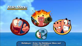 Worms 3D PS2 Gameplay HD (PCSX2)