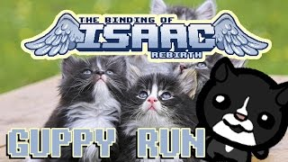 THE GUPPY RUN!!! | Binding of Isaac: Rebirth