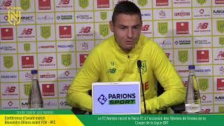 VIDEO: LIVE I Conférence de Presse d'après match : FCN-PFC