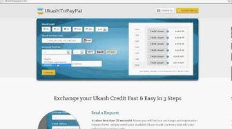 Ukash to Paypal (tutorial)